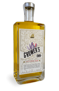 Growers Own Saffron Gin 500ml 42% ABV