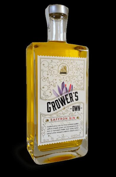 Growers Own Saffron Gin 500ml 42% ABV